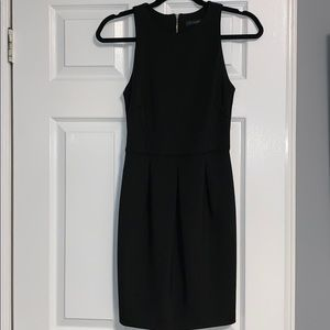 Black fitted dress perfect for semi formal events